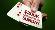 $200K Guaranteed Sunday